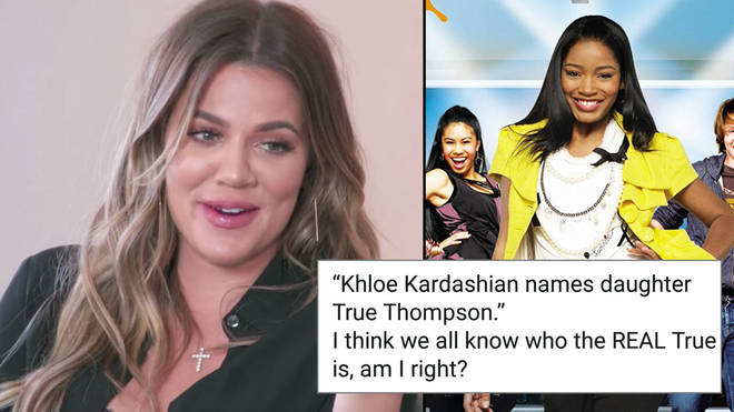 Khloe and True