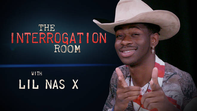Lil Nas X enters the PopBuzz Interrogation Room
