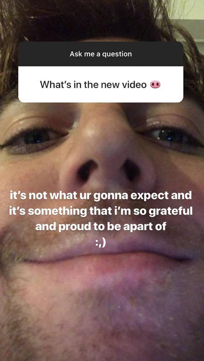 Shane Dawson Instagram Story.