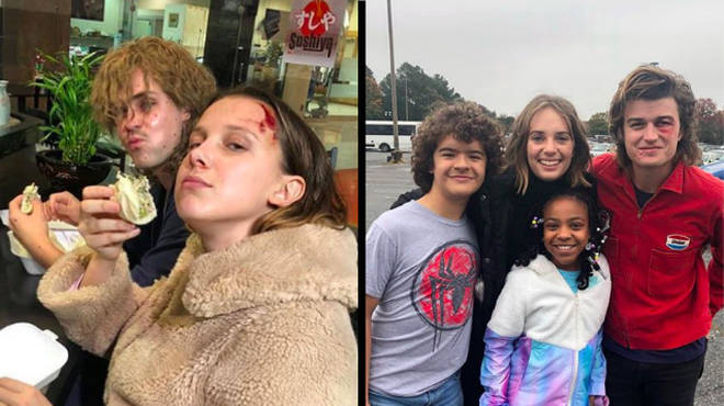 Stranger Things Behind The Scenes