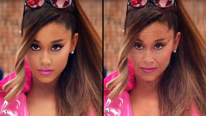 FaceApp age challenge: Ariana Grande old filter