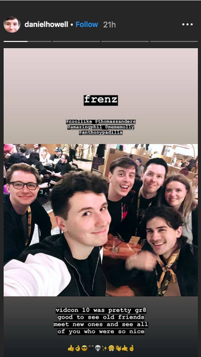 Dan Howell Instagram