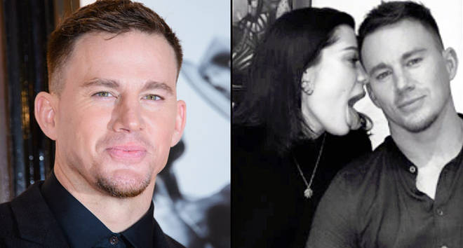 Channing Tatum and Jessie J.