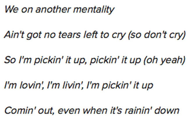 Ariana lyrics