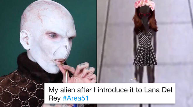 The Area 51 raid has spawned a new meme about the aliens