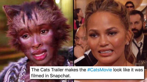 The 'Cats' movie trailer is diabolical and the memes are