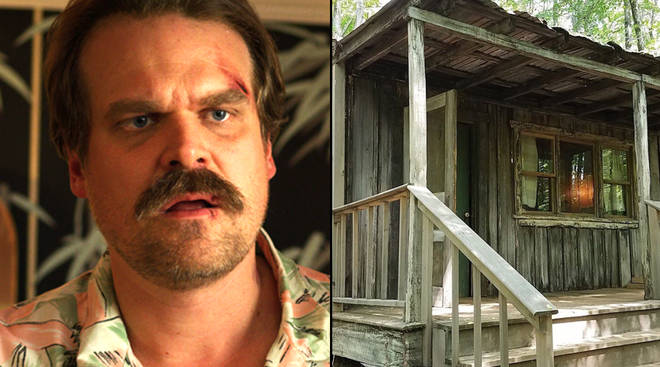 Hopper's cabin is actually real and you can go there
