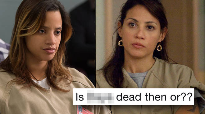 OITNB fans are left reeling after it appears as though Aleida killed her daughter Daya in the season 7 finale