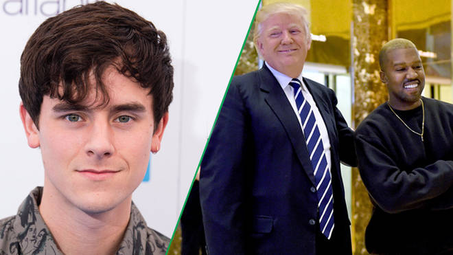 Connor Franta, Donald Trump and Kanye West