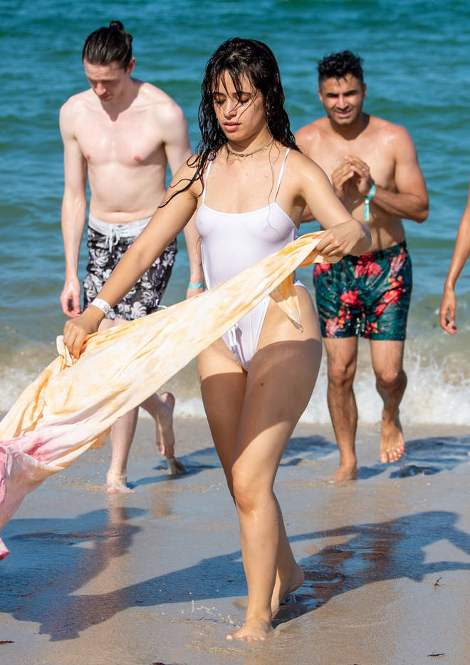 Camila Cabello in Miami.