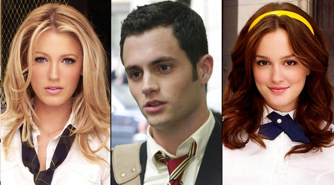 Gossip Girl - Serena, Dan and Blair