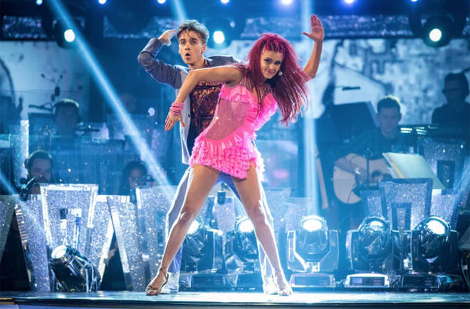 Joe Sugg and Dianne Buswell.