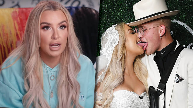 "Tana Mongeau clarifies ""just for fun and for content"" comment about Jake Paul wedding"