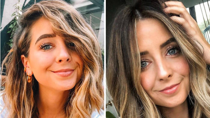 Zoella got long hair extensions and she looks incredible