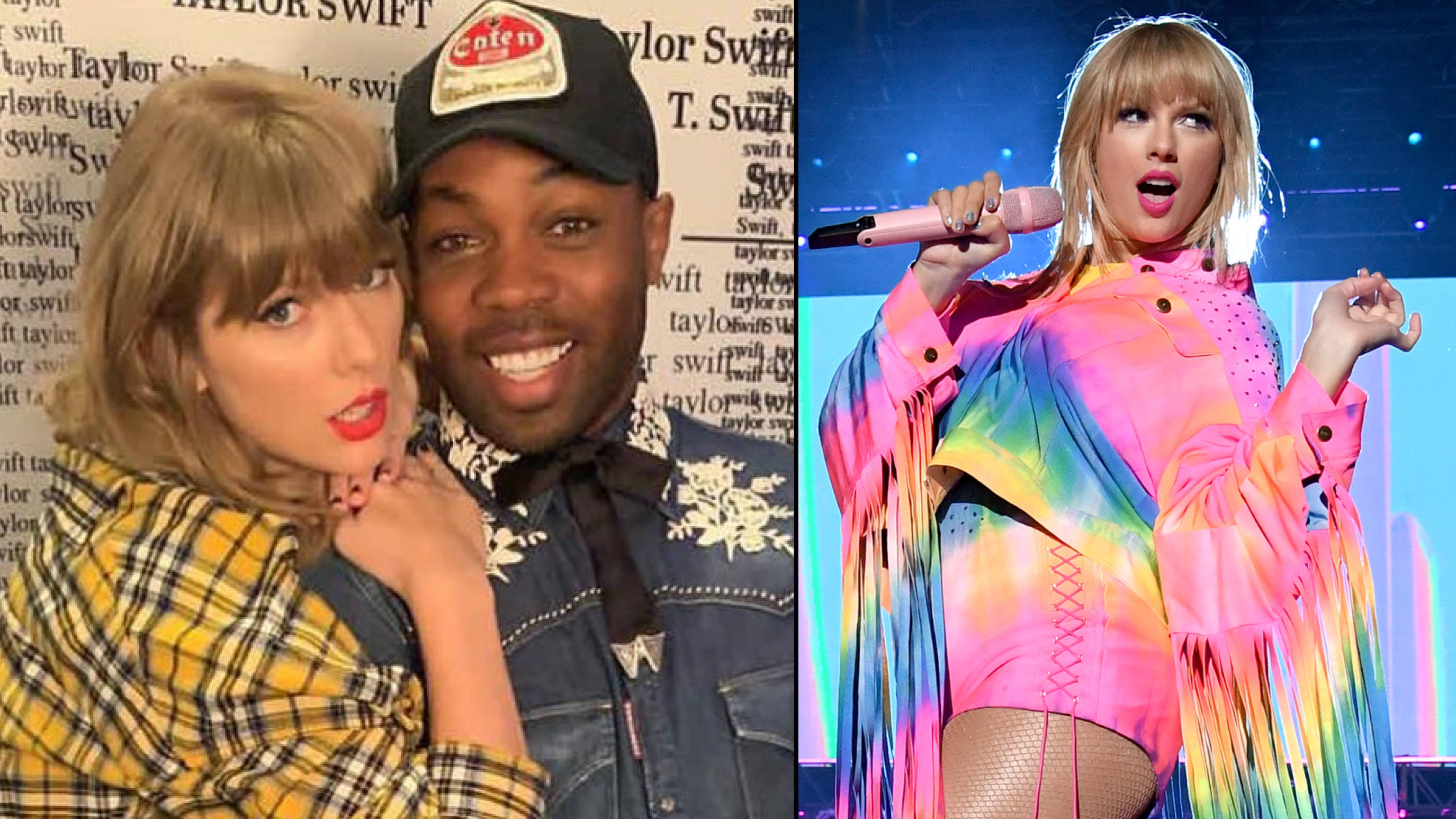 Taylor Swift reveals Todrick Hall inspired her to 'clarify' stance on LGBTQ+ issues