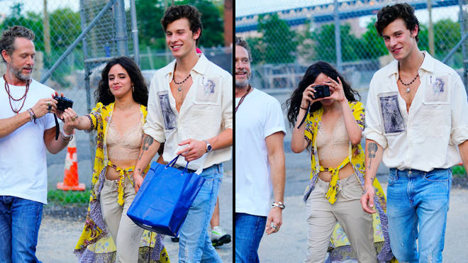 Shawn Mendes and Camila Cabello poke fun at the paparazzi