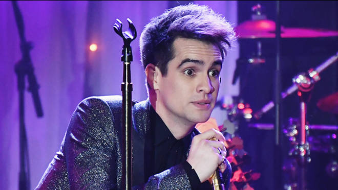 Brendon Urie Clive Davis Grammy Party