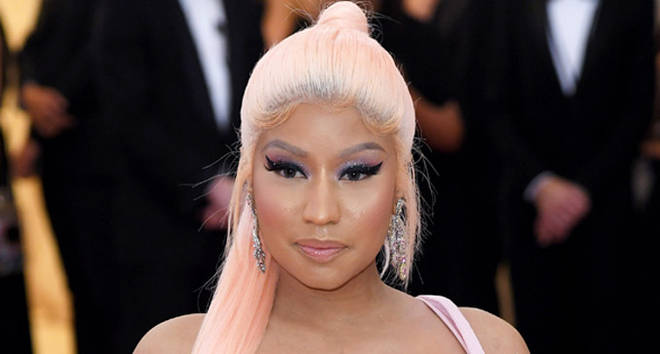 Nicki Minaj arrives for the 2019 Met Gala celebrating Camp: Notes on Fashion.