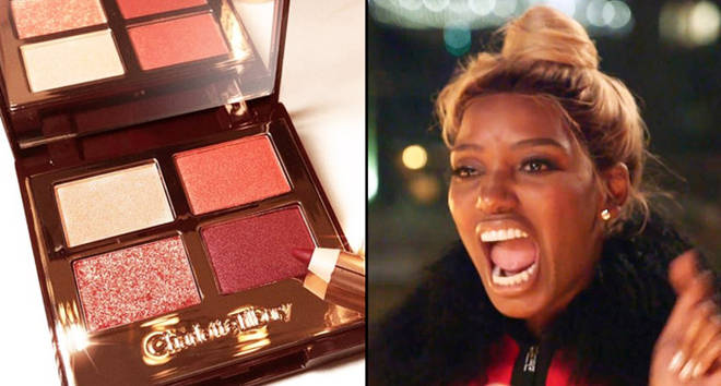 Charlotte Tilbury eyeshadow, Nene Leakes The Real Housewives of Atlanta.