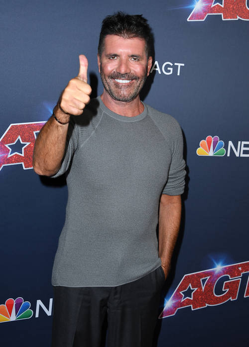 Simon Cowell Has A New Face Following Weight Loss And He Looks So Different Popbuzz
