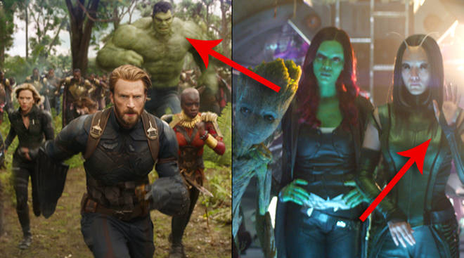 Avengers Infinity War Trailer Scenes That Were Cut From The Movie