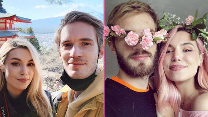 PewDiePie marries Marzia Bisognin and shares first photos of their wedding