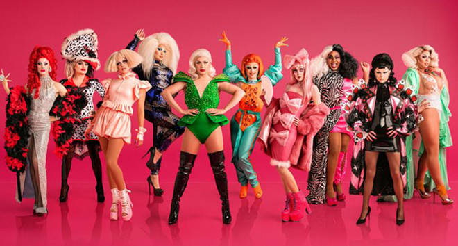 The RuPaul's Drag Race UK cast.