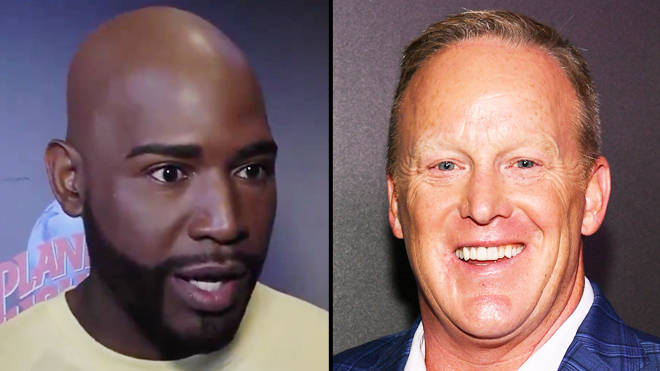 Queer Eye's Karamo Brown faces backlash for praising Sean Spicer at the DWTS cast reveal