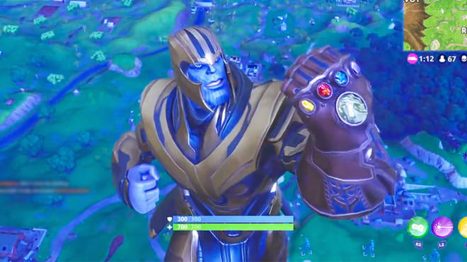 fortnite thanos avengers infinity war
