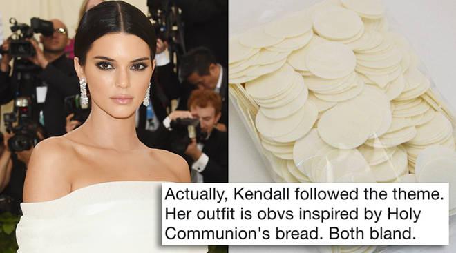 Kendall Jenner Met Gala Meme Tweet