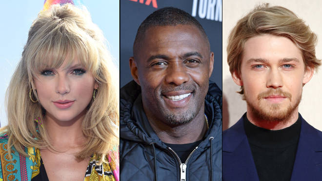 Taylor Swift London boy voice Joe alwyn Idris elba