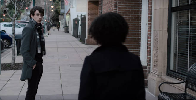 Winston and Ani talk in season 3 episode 13