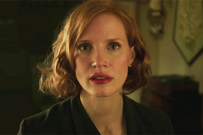 Jessica Chastain as Beverly Marsh.