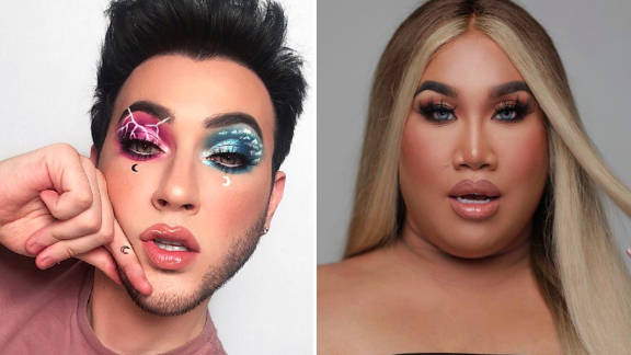 Manny MUA and Patrick Starr are being accused of stealing an MUA's editing style
