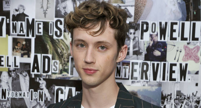 Troye Sivan attends Gucci's celebration of the Release of Paige Powell In LA.