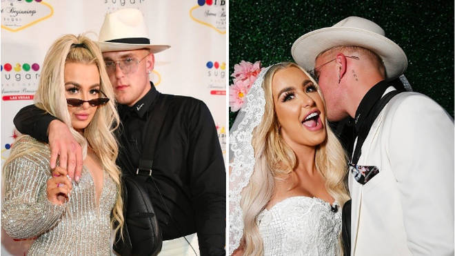 Tana Mongeau and Jake Paul celebrate their one month marriage anniversary