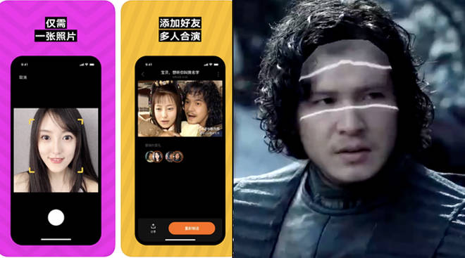 Chinese app ZAO lets you turn into a TV character with one selfie