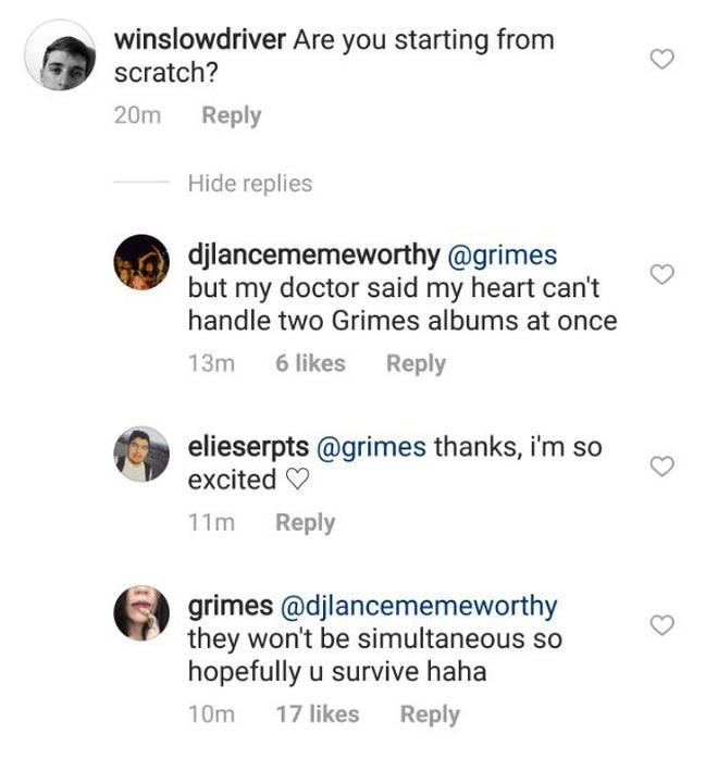 Grimes new album