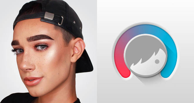 how to facetune james charles
