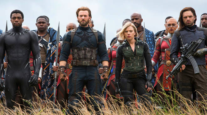 Infinity War Dead Characters