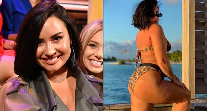 Demi Lovato Instagram photo.