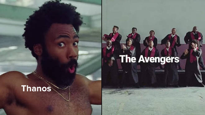 if you re sharing childish gambino s this is america memes you re