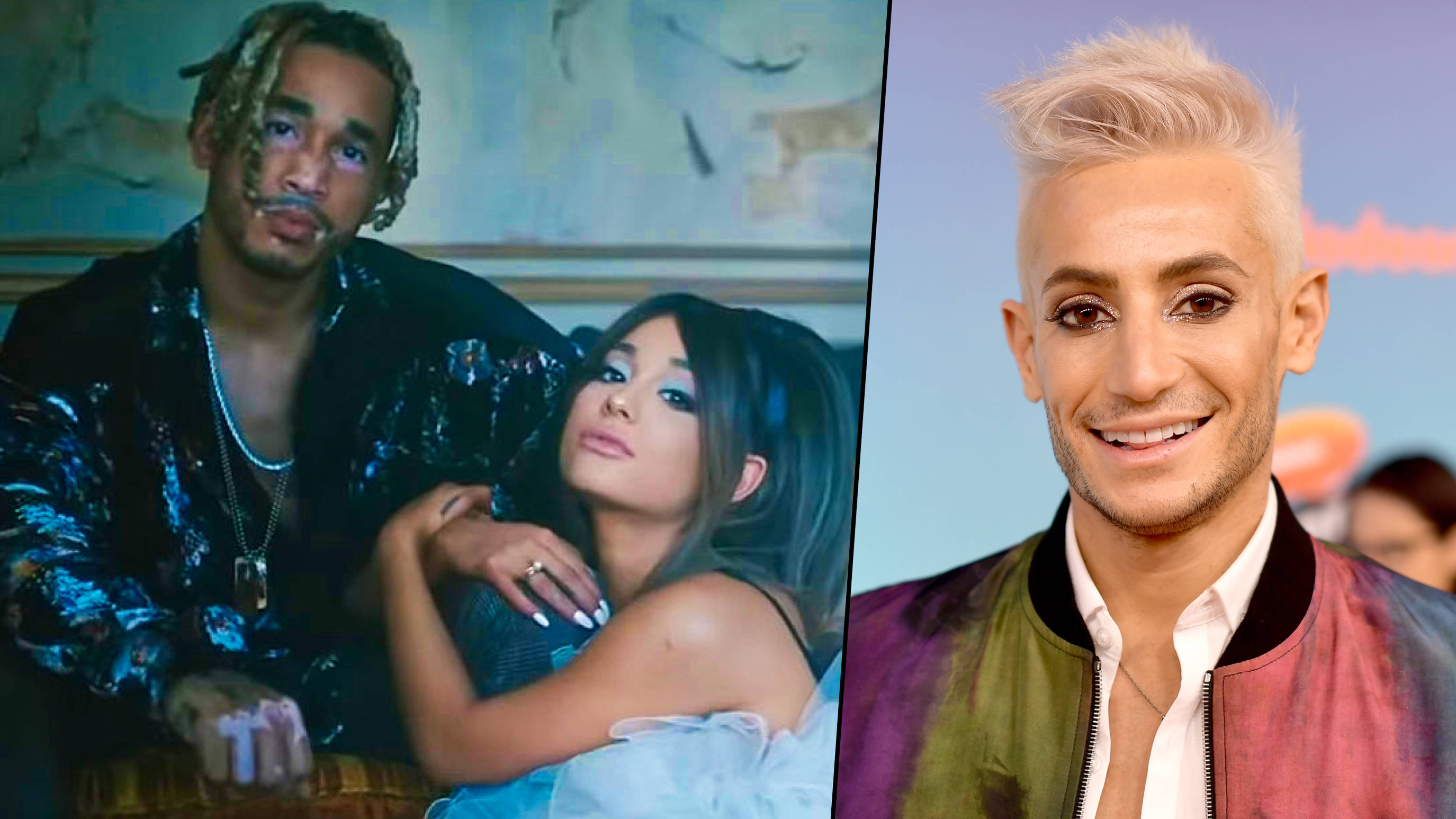 Frankie Grande shoots down rumours Ariana Grande is dating Mikey Foster