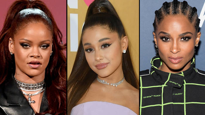 "Ariana Grande's stylist addresses accusations she ""stole"" looks from Rihanna and Ciara"
