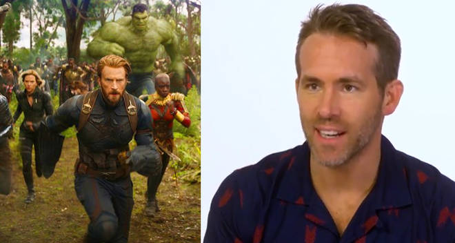 ryan reynolds deadpool 2 avengers infinity war