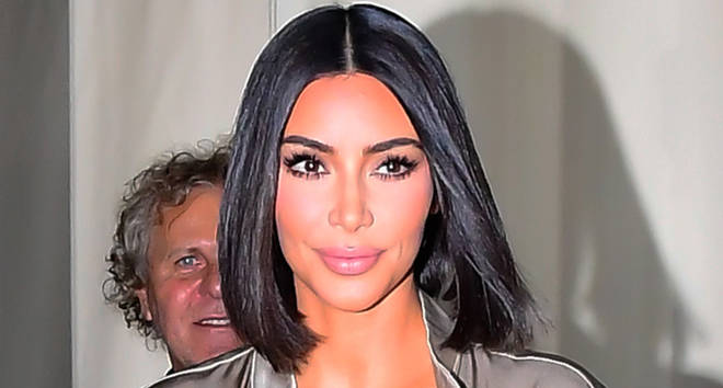 Kim kardashian is seen walking in soho on September 10, 2019.
