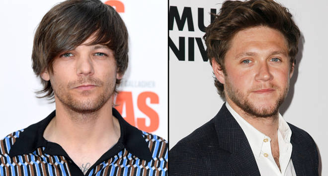 "Louis Tomlinson attends the World Premiere of ""Liam Gallagher: As It Was"" and Niall Horan red carpet."