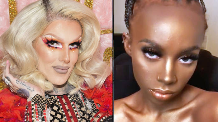"""Jeffree Star Cosmetics commented on a model's """"blackface"""" photo and the internet is livid"""
