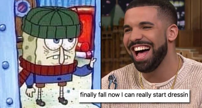 SpongeBob cold, Drake Jimmy Fallon.