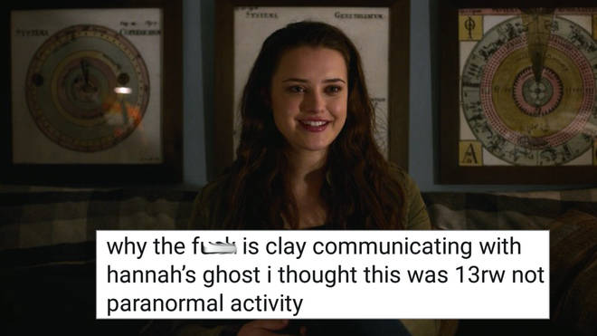 Hannah Baker the ghost